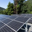 Solar energy panel at outdoor...