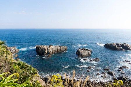 Sunshine coast view in Japan