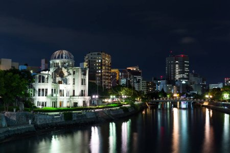 Atomic bomb dome in Hiroshima Japan