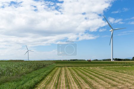 Wind turbines power generator