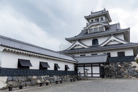 Hikone castle in Japan