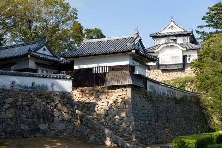Bitchu Matsuyama Castle in Japan