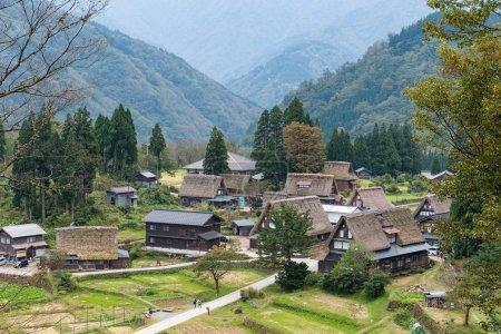 traditionelles shirakawago altes Dorf