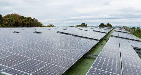 Foto de Estación de paneles solares - Imagen libre de derechos