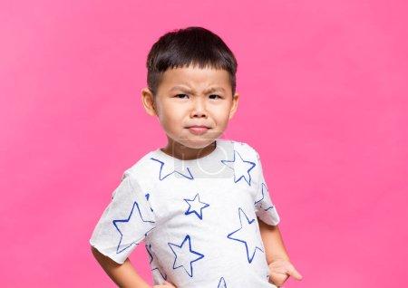 Cute lovely asian boy