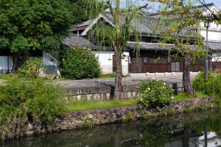 Yanagawa river canal in Japan
