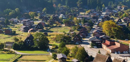 Traditional Shirakawago old village
