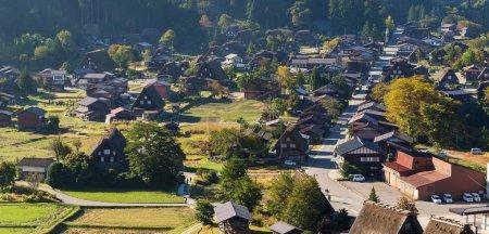 Pueblo tradicional de Shirakawago