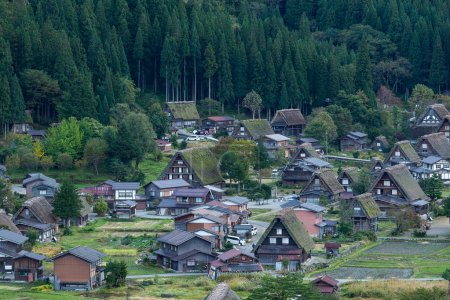 Japanese village Shirakawago