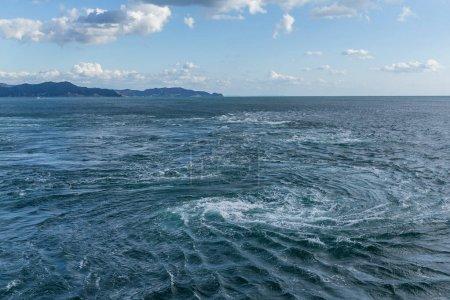 Naruto whirlpools in Tokushima, Japan