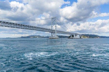 Onaruto Bridge and Whirlpool in Japan