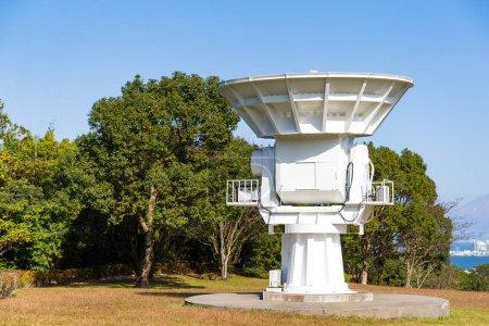 Large Satellite in Japan