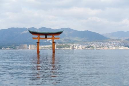 Itsukushima shrine in Japan