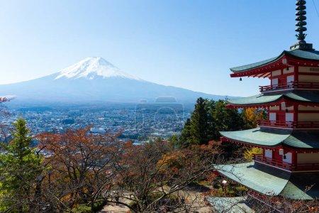 Mountain Fuji and Chureito Pagoda