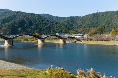 Traditional Kintai Bridge in Japan
