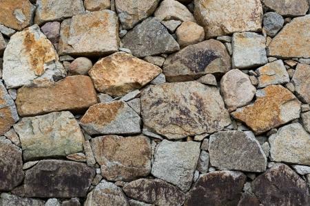 Stone wall at outdoor