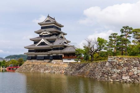 Traditional Matsumoto Castle in Japan