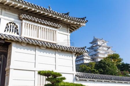 Traditional Himeji castle in Japan