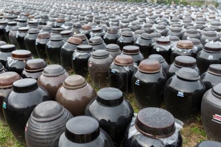 Storage of Vinegar in Barrels
