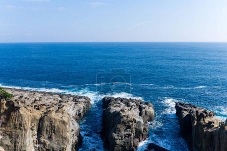 Sea coast in Miyazaki city