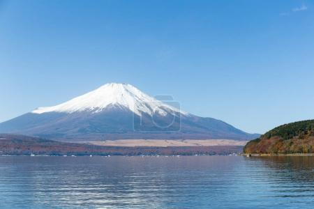 Lake Yamanaka and Mount Fuji