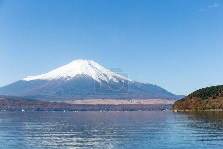 Lake Yamanaka and Mount Fuji