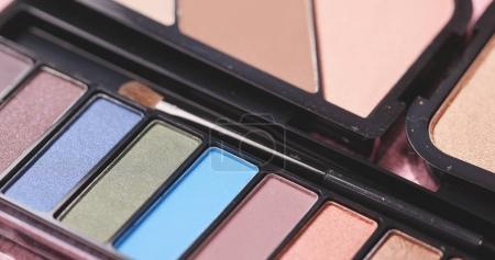 Professional makeup eyeshadows palette