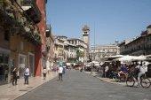 Erbe Square - the most ancient area of Verona.