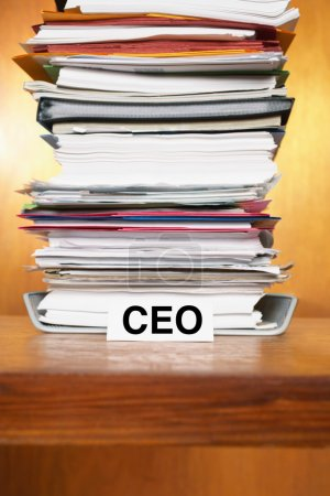 Overflowing Inbox of CEO
