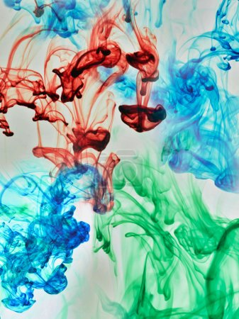 Substances dissolving in water