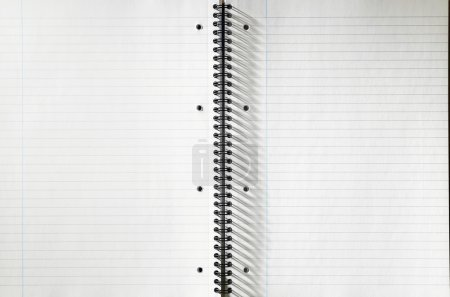 Spiral Notepad with clear pages
