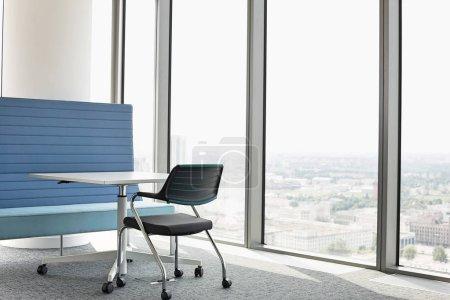 Furniture near window