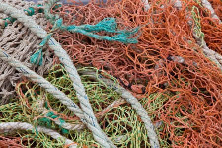 Fishing rope and nets