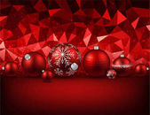Vector illustration design of beautiful Christmas balls