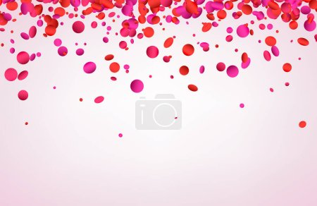 Circle shape confetti template