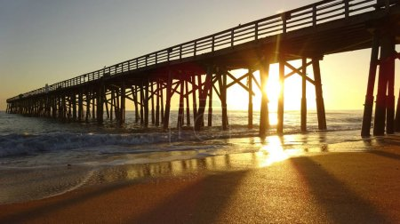 Sunshine at the Beach Pier