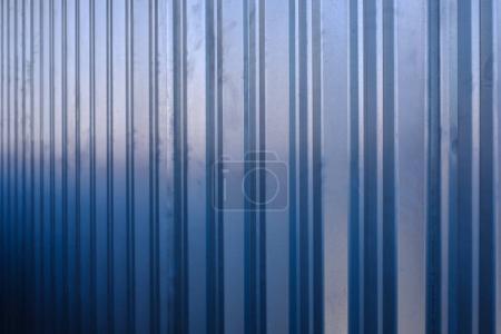 Cheap sheet of blue fence