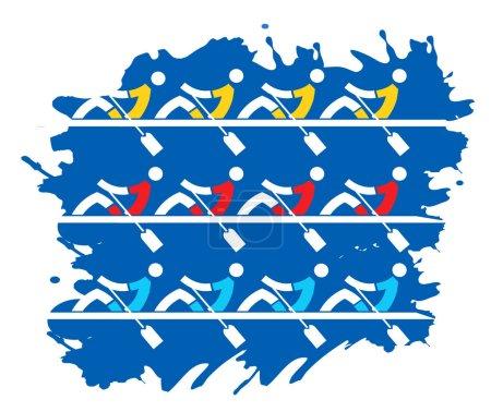 Rowing competition regattas