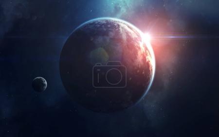 Space art, incredibly beautiful science fiction wa...