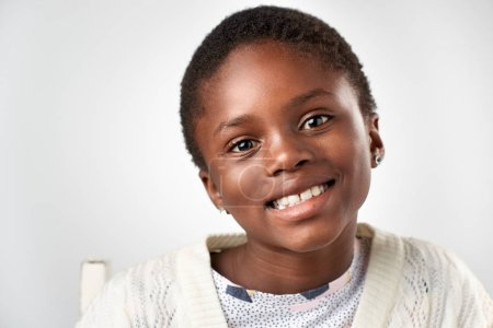 Cute Young african girl