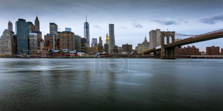 Photo for New York skyline, view from Brooklyn - Royalty Free Image