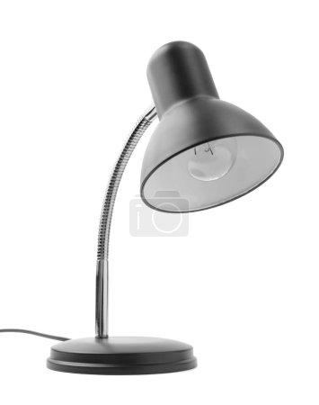 Photo pour Lampe de table isolée sur fond blanc - image libre de droit