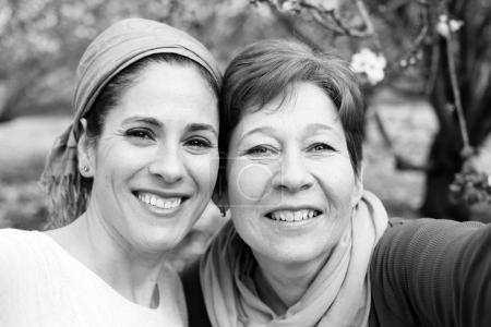 two women outdoors