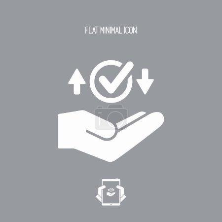 Transfer service - Minimal icon...