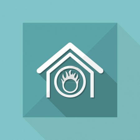 danger home icon