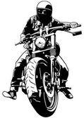 Harley Davidson and Rider