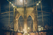 NYC Brooklyn Bridge Night