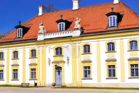 Branicki Palace and Medical University. Bialystok