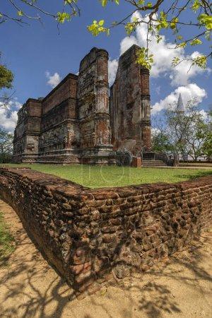 Temple de Lankatilaka à Polonnaruwa, Sri-Lanka