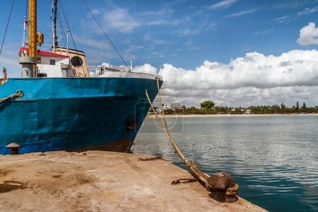 The port of Toamasina